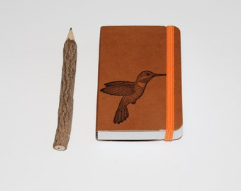 Hummingbird Pocket Journal Sketch Book Pad