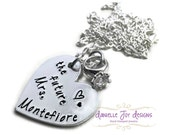 """Stamped Jewelry Personalized Jewelry Beautiful  Stamped """"The Future Mrs."""" Necklace"""