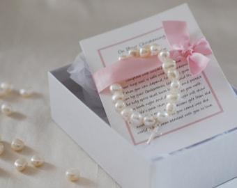Girls Christening or Baptism Bracelet
