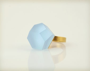 Vu – sky blue, gold ring -=PYO=-