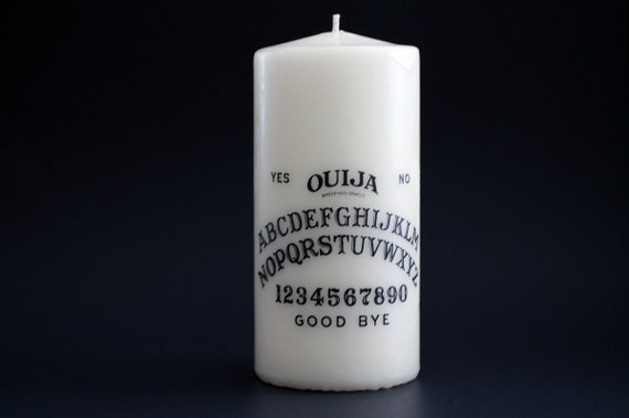 Ouija Candle - Ouija Board - Halloween - Occult - Goth Candle