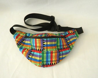 Fanny Pack - Hip Bag - Colorful Crayons -  Children thru Adult Sizes