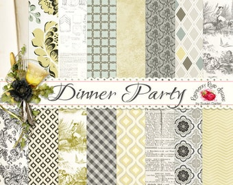 Dinner Party Paper Set