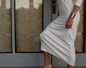 Bamboo Fiber Hooded Dress