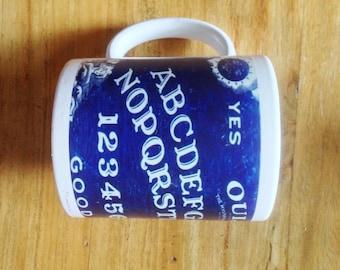 Ouija Board Vintage blue Design Mug