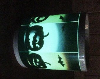 Glow in the Dark Halloween Pumpkin Mug