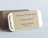 Orange Blossom Solid Perfume - Floral Fragrance