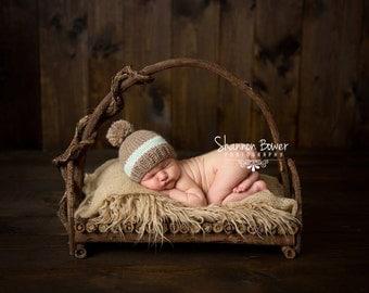 Branch Bed Prop, Twig Bed Prop, Bed Photo Prop, Newborn Bed Prop, Organic Prop, Natural Basket