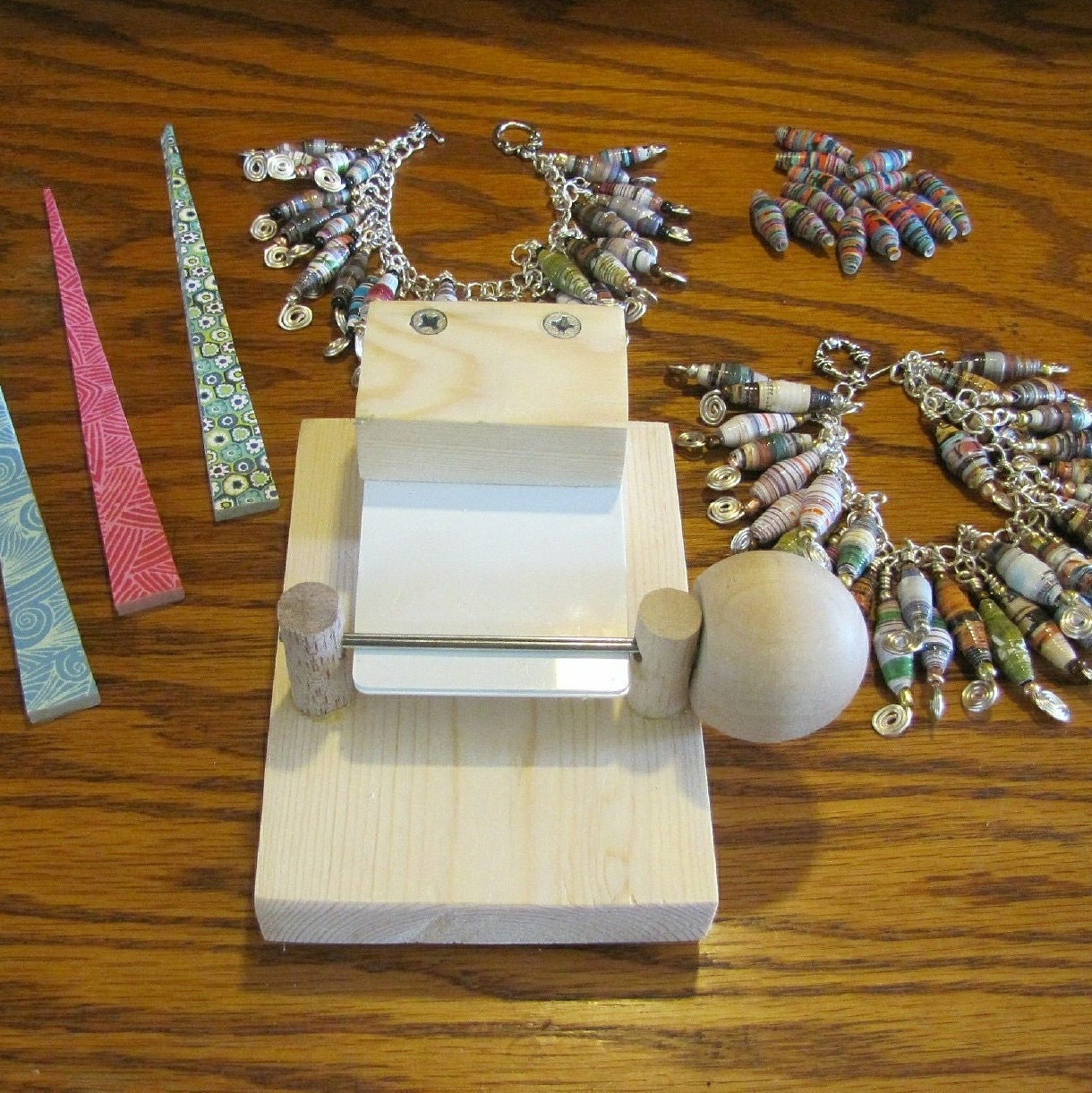 paper bead rolling machine