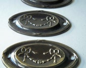 Vintage escutcheon plates