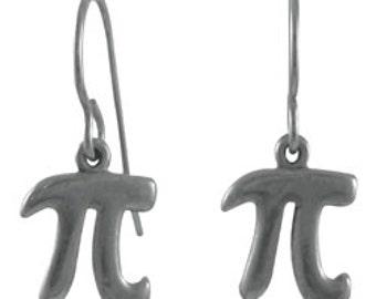 Pi Earrings - LT598- Math Teacher Gifts- Pi Day Accessories
