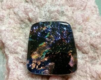 Dichroic Glass Cabochon DGC15
