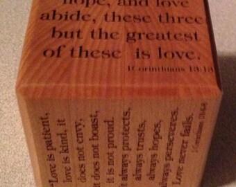 Bible verse block