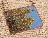 Tree necklace Tree jewelry photography jewelry mixed media jewelry