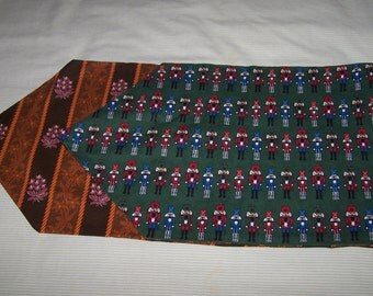Reversible Fall,  Christmas  Table runner