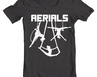 Aerials - Aerialist and Circus Arts Tee Shirt or Hoodie - Lyra, Silks, and Trapeze
