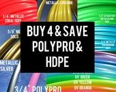 Buy 4 Save 20% POLYPRO and HDPE Doubles Quads Dance & Exercise Hula Hoop collapsible with push button