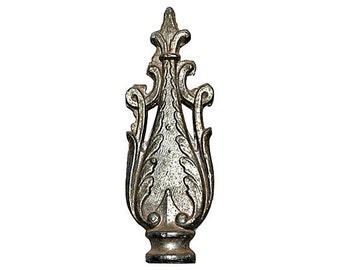 Vintage Lamp Finial Sinuous and Elegant 1920s Art Deco