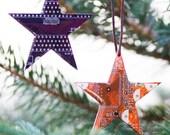 Star Christmas ornament - Holiday decor - geeky Christmas
