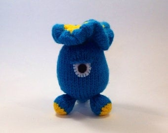 Gulpalump Amigurumi Knitting Pattern - Instant Download - Plush Toy Animal / Alien / Monster with FREE PATTERN for Heli-Bugs