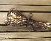 Twig Wedding Bouquet, Gift Bouquet - Simple Forest Glade Love Nest - Lapsana & Birch