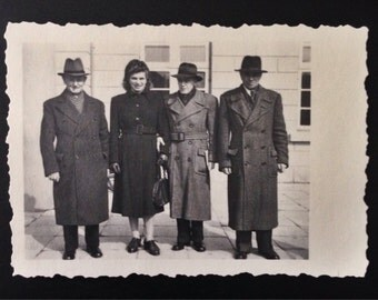 Original Antique Photograph Friendly Lineup