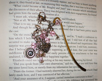 MADE  Beaded Jane Austen Charm Bookmark