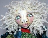 Festive Cloth Fairy Art Doll