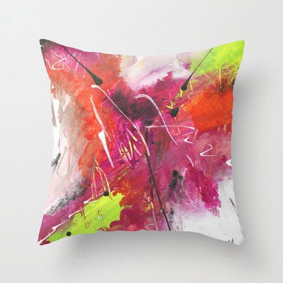 oreiller avec fermeture clair de la par judyapplegarthart sur etsy. Black Bedroom Furniture Sets. Home Design Ideas
