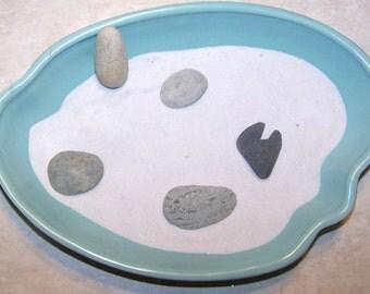 Zen Stone Set Japanese Rock Garden Blue Grey Elemental Stones Kikyaku Shigyo Shintai Taido Reisho Stones Zen Garden 5 Zen Garden Rocks Sea