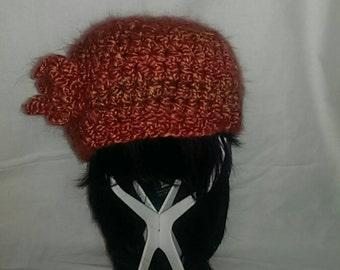 Vintage style crochet cap