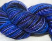 handdyed Yarn, 100g/ 3,5oz , colour Tartan