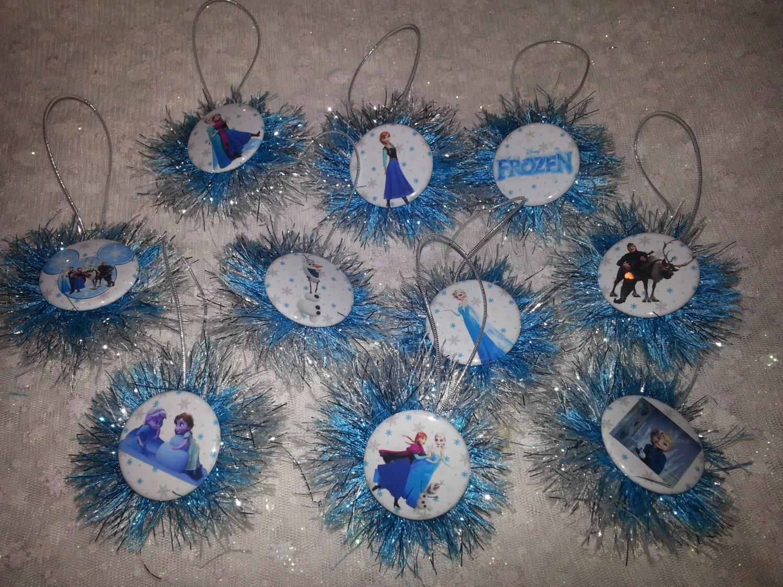 Everybody Loves Christmas: FROZEN CHRISTMAS ORNAMENTS 10 piece, Elsa ...