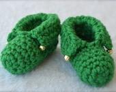 Crochet Elf Baby Slippers