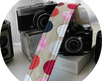 Color Full Dots Camera Strap DSLR slr