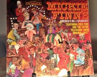Vintage Vinyl Album Mickie Finn's No. 1 Speakeasy NBC Television Soundtrack Record