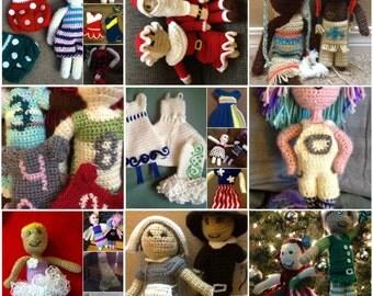 E-book Crochet Girl doll
