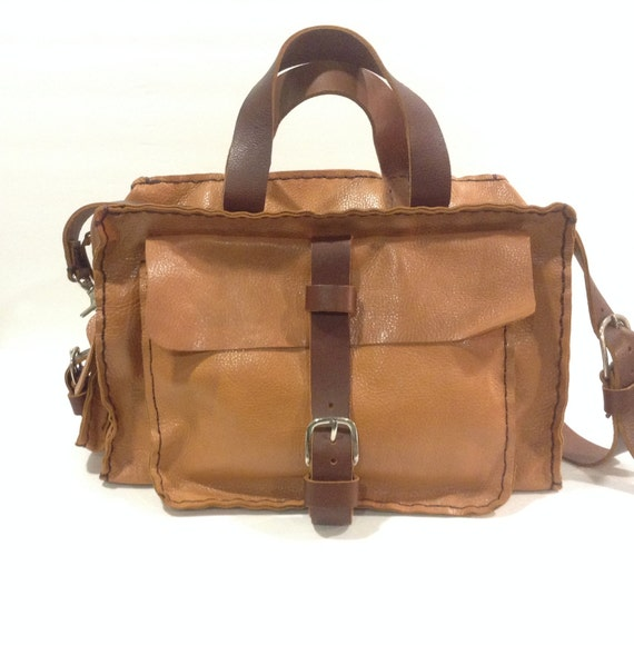 Weekend Travel Leather Bag For Men And Women/Large gym Leather bag
