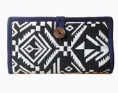 SALE Handmade Tribal Billfold Long Wallet