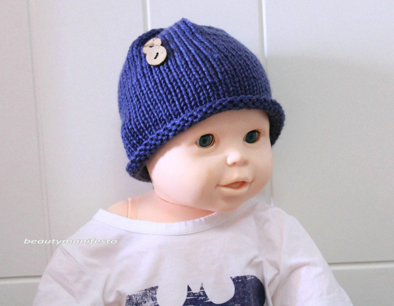 Newborn Hat Propknit Baby Beautymanifesto