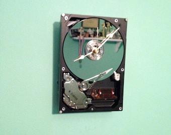 Unique Hard Drive Clock