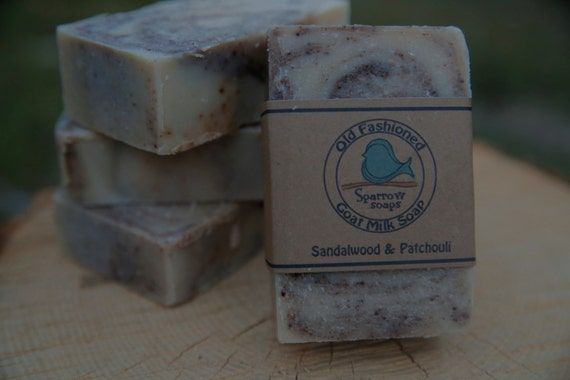 Sandalwood & Patchouli Goat Milk Soap