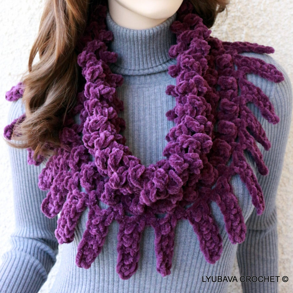 Crochet Pattern For Cowl Scarf : Chandeliers & Pendant Lights