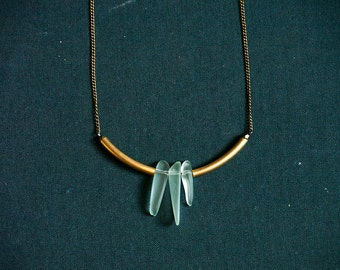 TRIER Necklace - Tumbled Glass