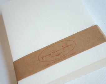 Ivory 5x7 inch envelopes - set of 50