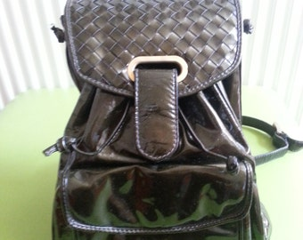Authentic BOTTEGA VENETA Leather Backpack
