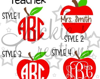 Teacher Decals