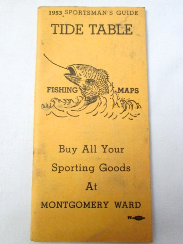 3 tide table booklets fishing sportsman 39 s guide san for Tides for fishing san diego