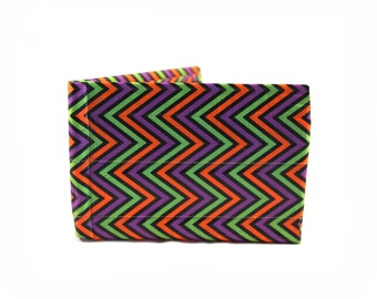 Scary Chevron Duct Tape Wallet