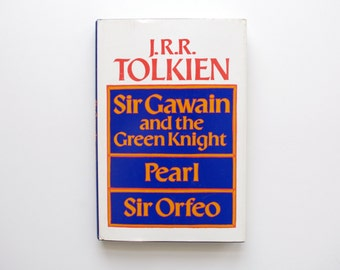 JRR Tolkien - Sir Gawain and the Green Knight, Pearl, and Sir Orfeo - First Edition Hardcover